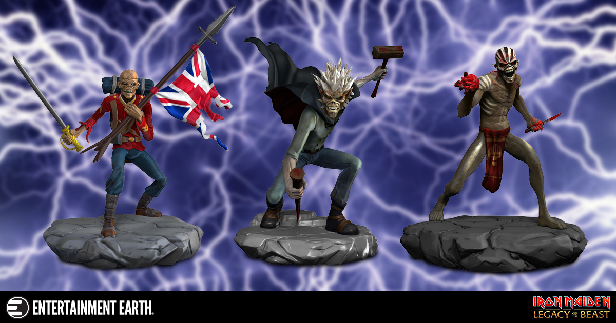 Iron Maiden Is Better On Vinyl And These Figures Prove It
