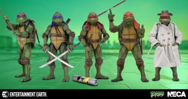 These Gnarly TMNT Movie Figures and Props Are Bodacious!