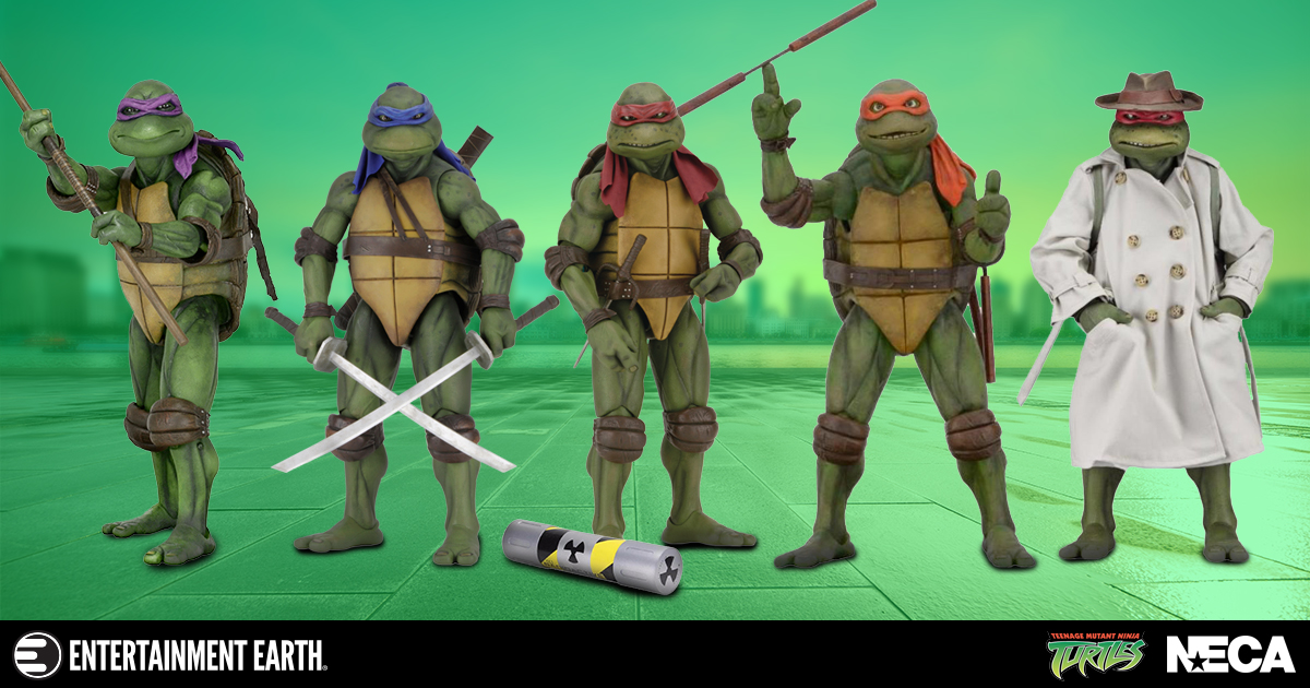 These Gnarly Tmnt Movie Figures And Props Are Bodacious