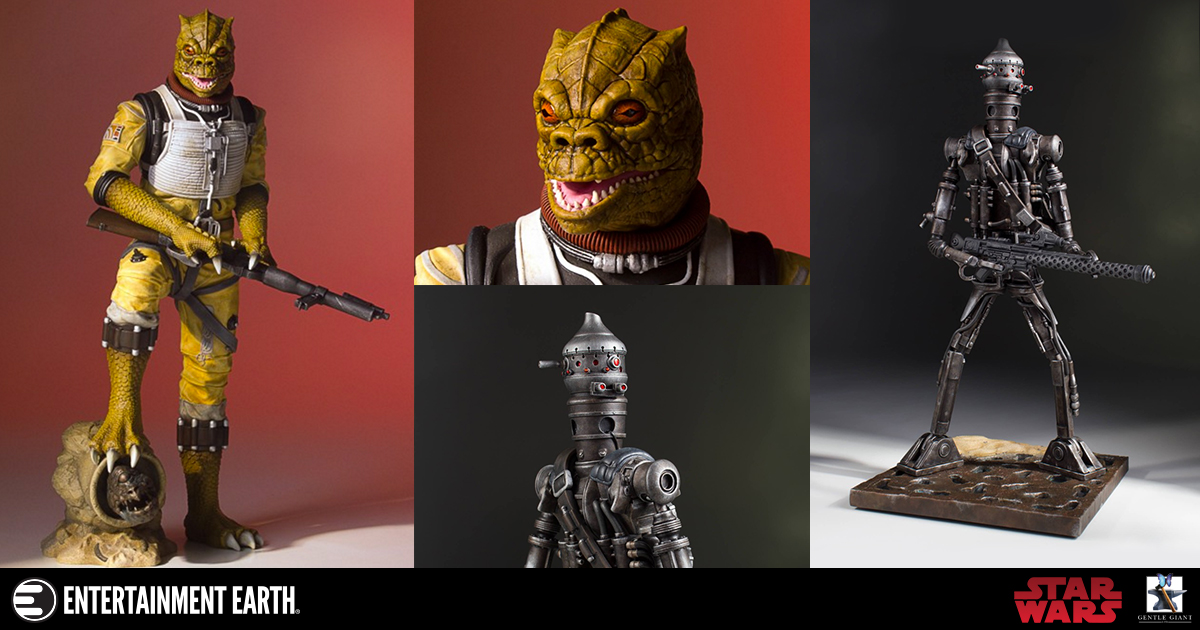 Bounty Hunters Collectors Gallery Statues