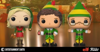 Santa Is Spreading Christmas Cheer Early with a Chance for an Elf Pop! Figure Chase