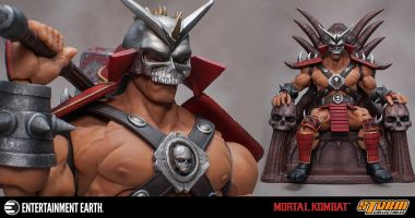 You Will Taste No Victory Without This Shao Kahn Action Figure!