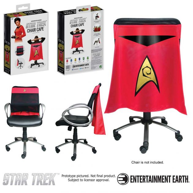 Star Trek: The Original Series Operations Red Chair Cape