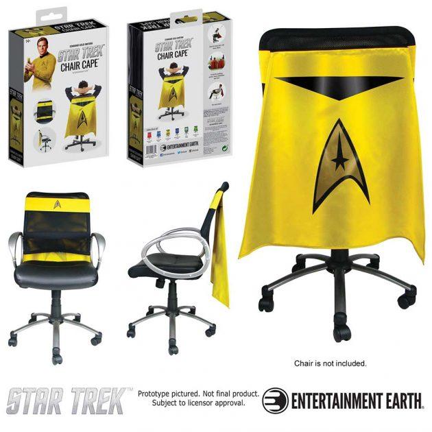 Star Trek: The Original Series Command Gold Chair Cape
