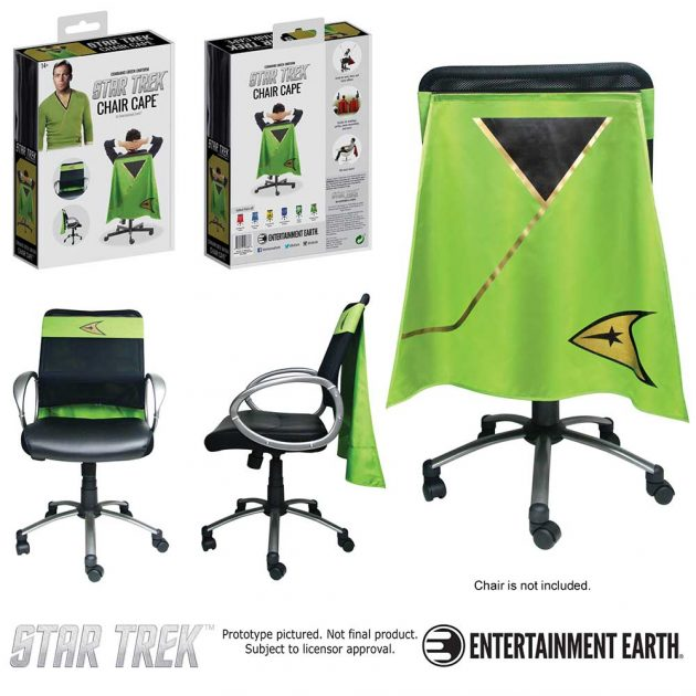 Star Trek: The Original Series Command Green Chair Cape