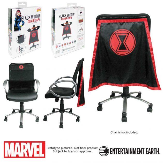 Black Widow Chair Cape