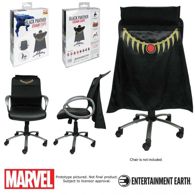 Black Panther Chair Cape