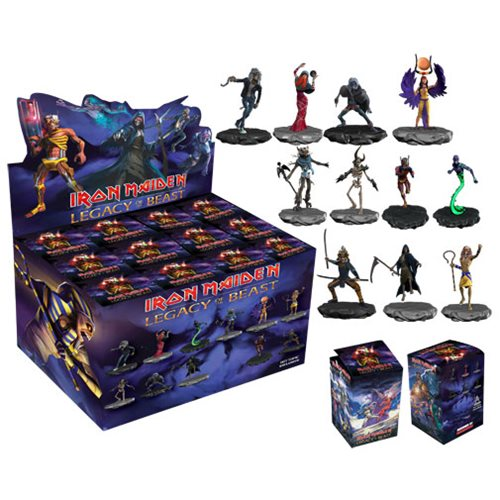 be part of the legacy  these blind box figures will rock your world