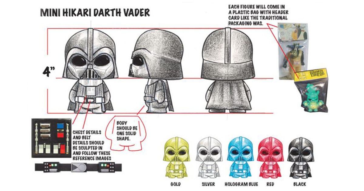 Darth Vader Mini Hikari