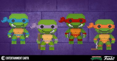 The Turtles Have Gone 8-Bit!