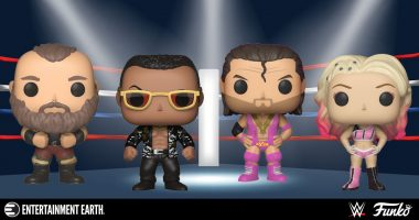 Old School Meets New School with These WWE Pop!s