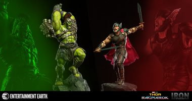 Bring the Battle between Thor and the Hulk Home with This Diorama Series