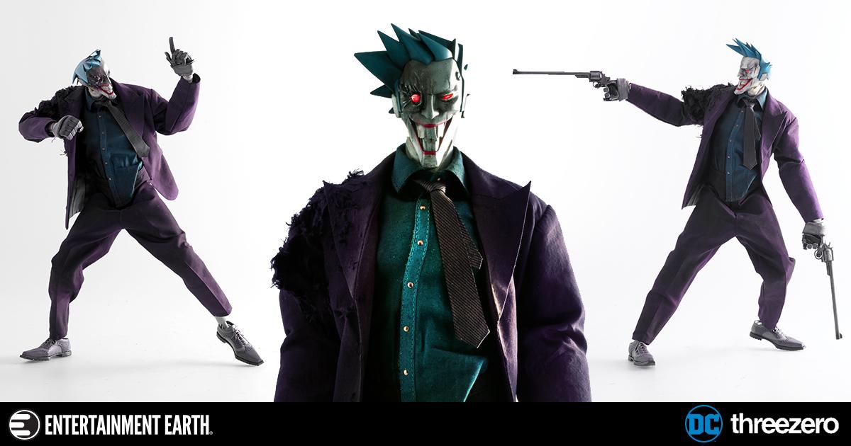 DC Steel Age Joker 1:6 Scale Action Figure
