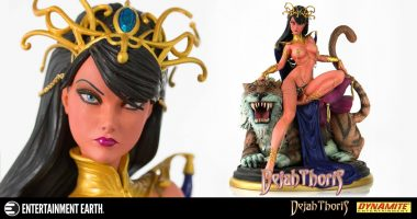 Provocatively Detailed Dejah Thoris Statue Inspired by J. Scott Campbell