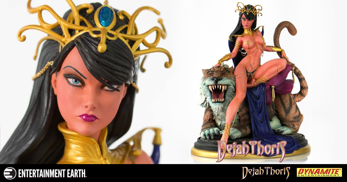 Provocatively Detailed Dejah Thoris Statue Inspired By J