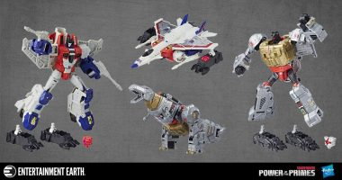 Unleash the Power of the Primes with Grimlock and Starscream