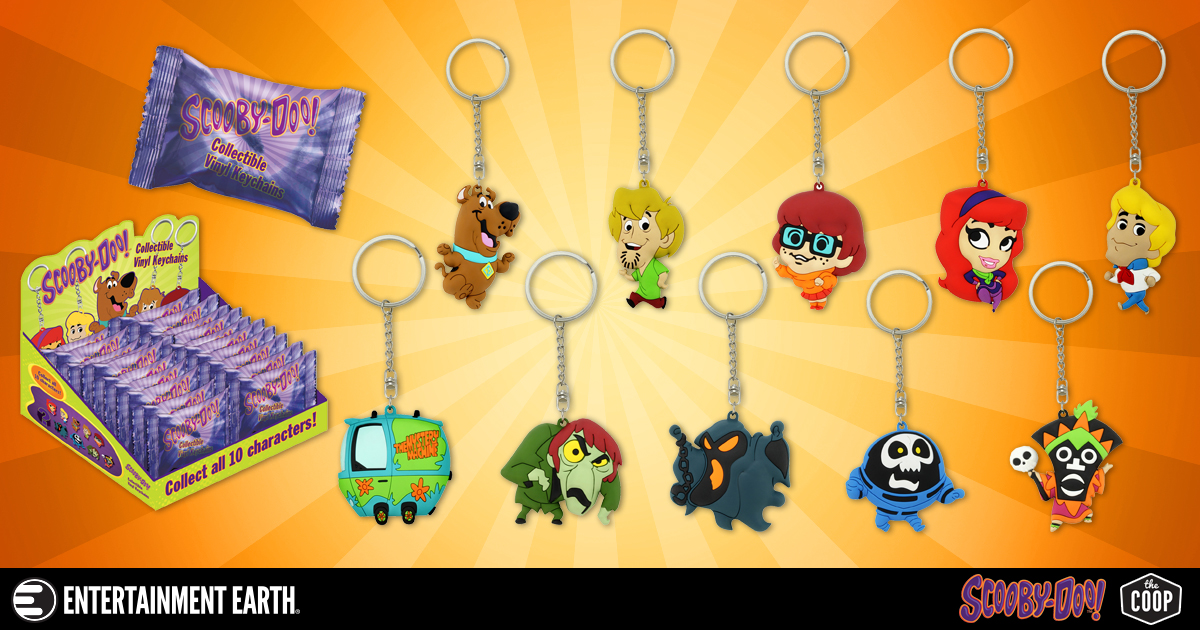 Let Scooby-Doo Keep Track of Your Keys - No Scooby Snax Required! 0f1d5f42e126