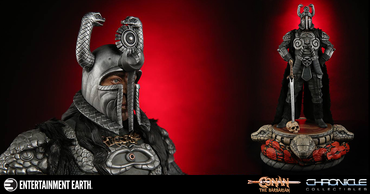 Conan the Barbarian Thulsa Doom 1:4 Scale Statue