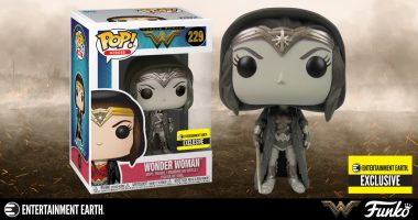 This Exclusive Wonder Woman Pop! Is worth Going to Battle for