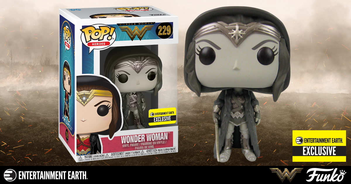 Wonder Woman Movie Cloak Sepia Pop! Vinyl Figure