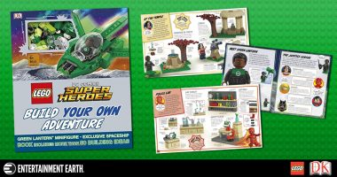 Review: You'll Be Calling Super Heroic Shots with This LEGO Build Your Own Adventure Book