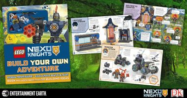 Review: Decide What's next for the LEGO Nexo Knights with This Build Your Own Adventure Book