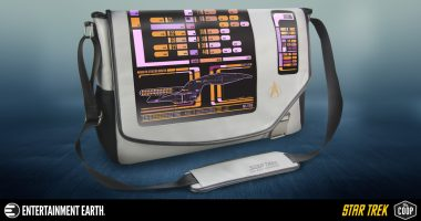 Sling the Future over Your Shoulder with This Star Trek: The next Generation PADD Messenger Bag