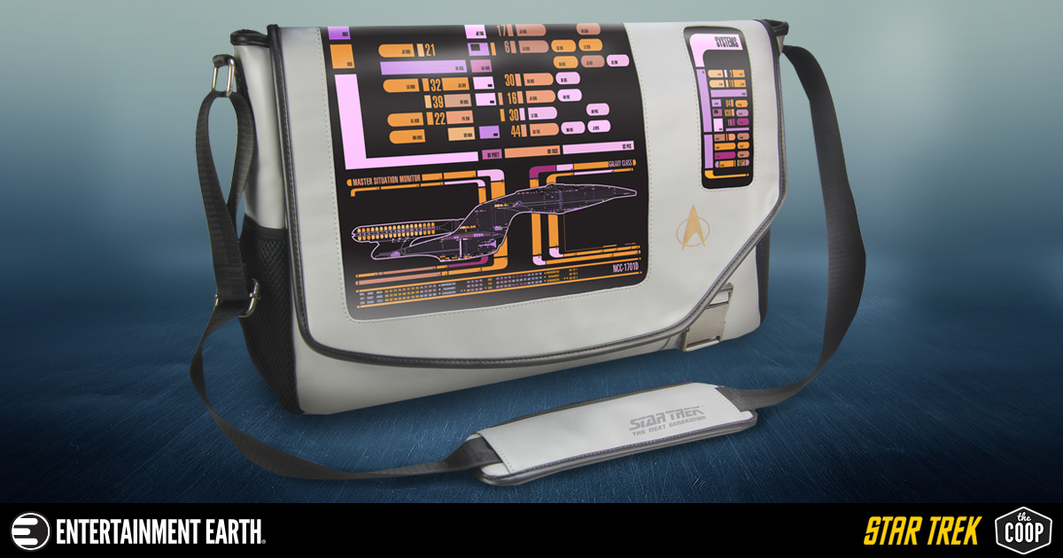 Star Trek: The Next Generation PADD Messenger Bag