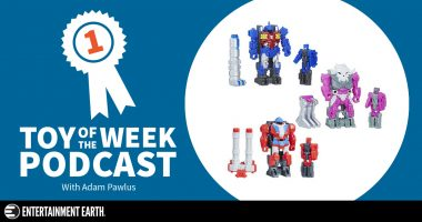 Toy of the Week Podcast: Transformers Power of the Primes Generations Wave 1 Prime Masters