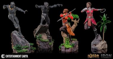 Stop What You're Doing and Get These Black Panther Diorama Series Statues