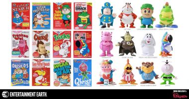 12 Ron English Cereal Killers Mini-Figures You Need on Your Shelves