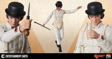 Impress Your Droogs with this A Clockwork Orange Action Figure