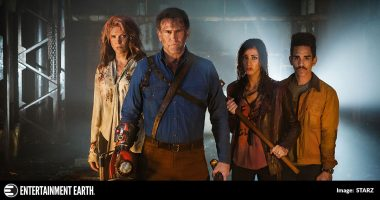 Geek Headlines: New Ash vs. Evil Dead Trailer, Exclusive Entertainment Earth Figures, and More!