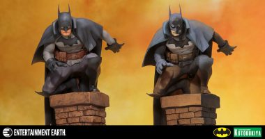 Make an Impact to Your Collection with This Victorian Era Gotham by Gaslight Batman Statue