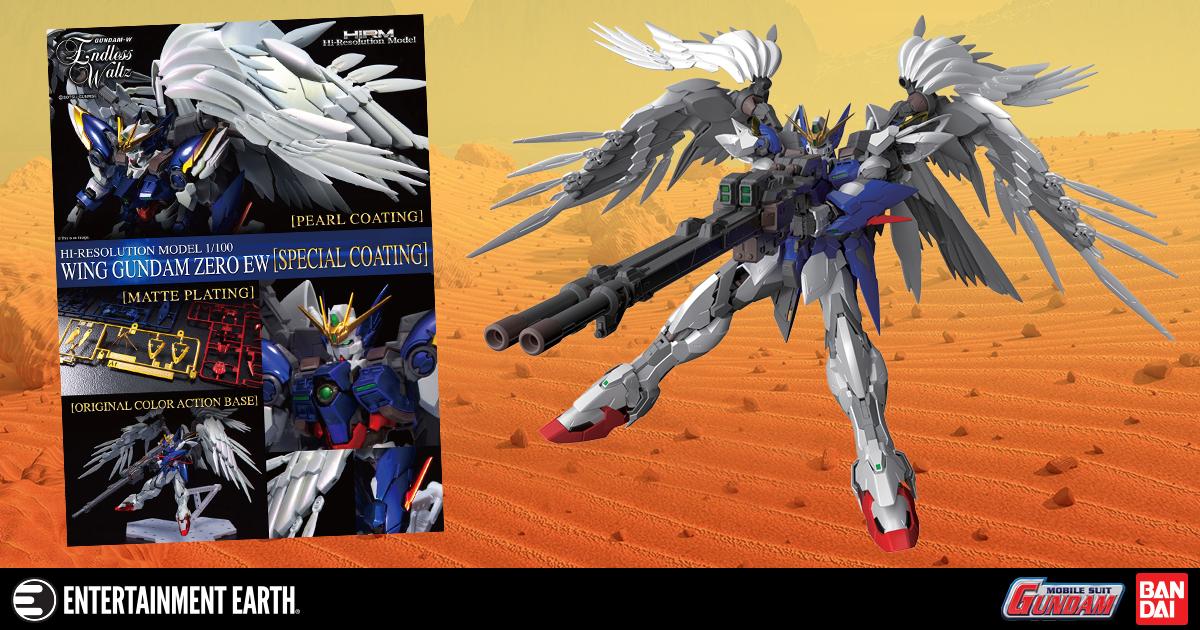 Gundam Wing: Endless Waltz Wing Gundam Zero Plated Coating Hi-Resolution 1:100 Scale Model Kit