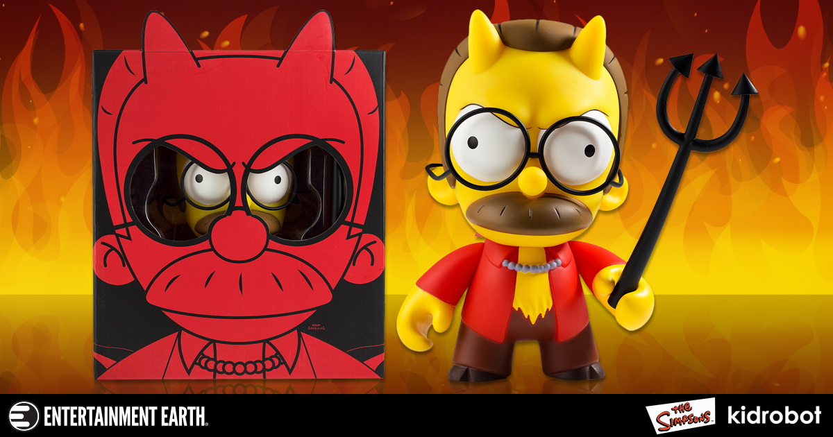 The Simpsons Devil Flanders 7-Inch Medium Vinyl Figure