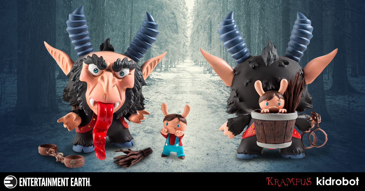 Krampus by Scott Tolleson Brown Colorway 5-Inch Dunny Vinyl Figure