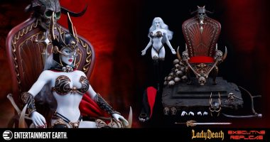 If You Miss This Lady Death Action Figure, You Risk Eternal Agony