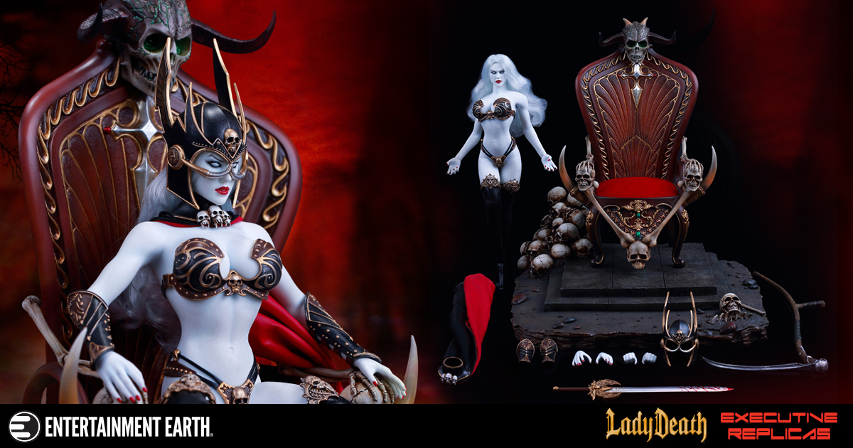 Lady Death: Death's Warrior 1:6 Scale Deluxe Action Figure
