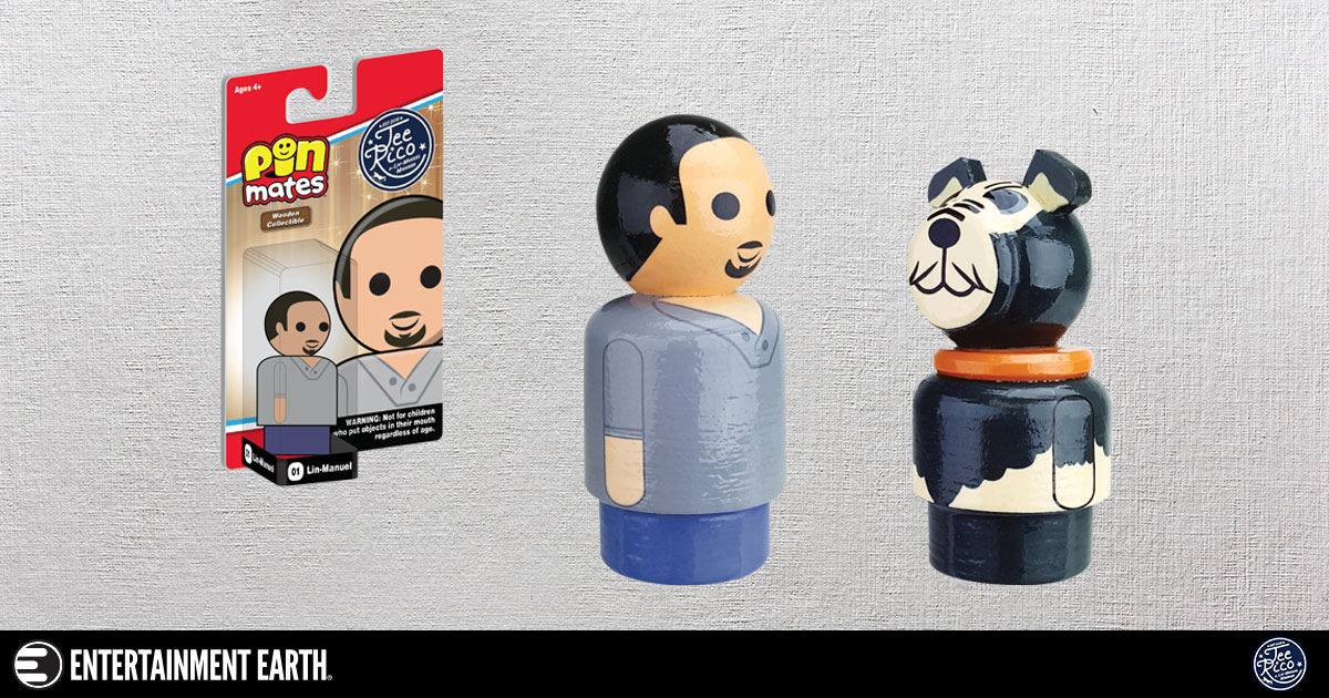 Lin-Manuel and Tobi Pin Mates Wooden Collectibles (Set of 2)