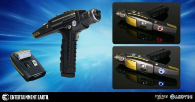 Set Your Star Trek Collection to Stunning with This Phaser Prop Replica