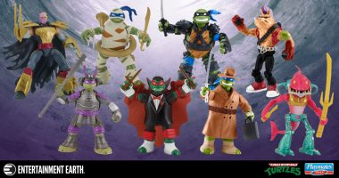 These New TMNT Figures Are Totally Tubular