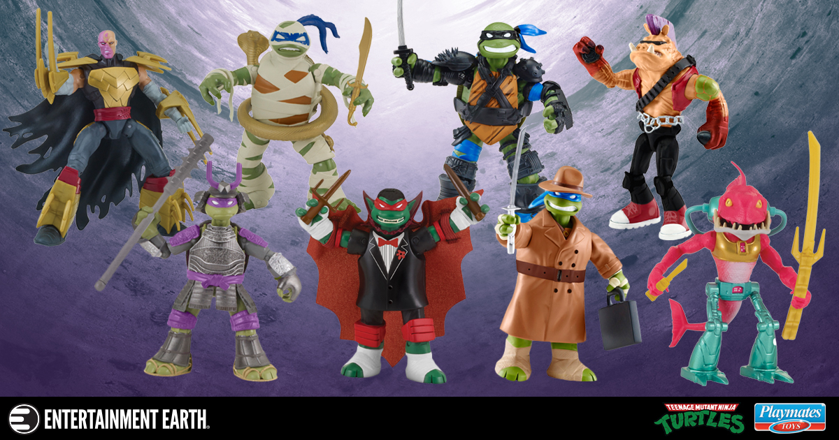 TMNT 2018 Basic Action Figure Wave 4 Case