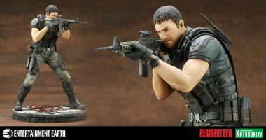 Dominate the Zombie Hordes with this Resident Evil: Vendetta ArtFX Statue