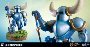 This Shovel Knight Statue Digs His Way into Our Hearts