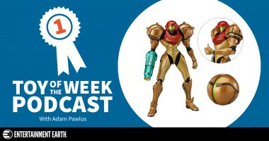 Toy of the Week Podcast: Metroid Samus Figma Action Figure