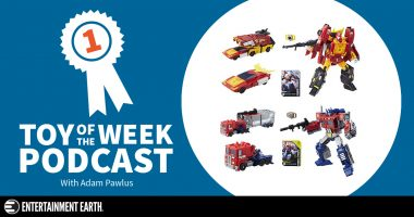 Toy of the Week Podcast: Transformers Power of the Primes Leader Wave