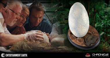 Are You Brave Enough to Keep a Velociraptor Egg on Your Desk?