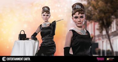 Enjoy Breakfast at Tiffany's with This Deluxe Action Figure