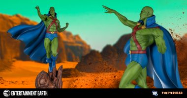 This Magnificent Martian Manhunter Maquette Will Inspire Your Heroic Spirit